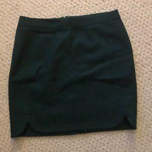Jcrew wool skirt size 0